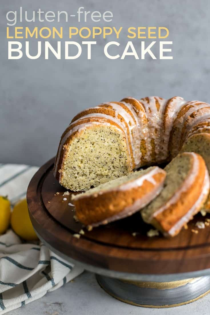 Healthy Lemon Poppy Seed Bundt Cake