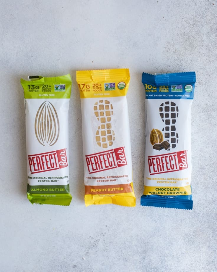perfect bars included in healthier packaged snack bars review