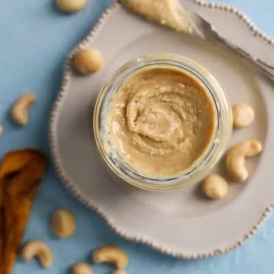Mango Macadamia Nut Cashew Butter