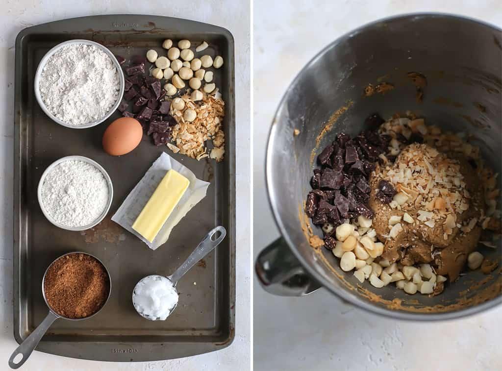 Hawaiian Chocolate Macadamia Nut Cookies