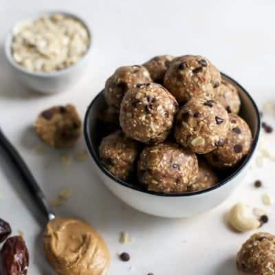 Maca Peanut Butter Energy Balls
