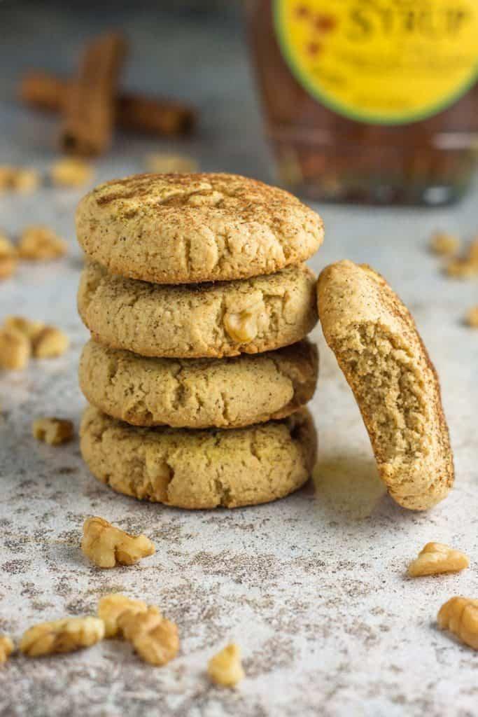 Paleo Maple Walnut Cookies
