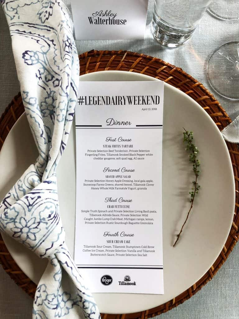 tablescape plate style