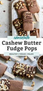 homemade healthy fudge pops on tray