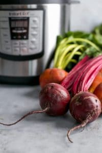 raw beets by instant pot
