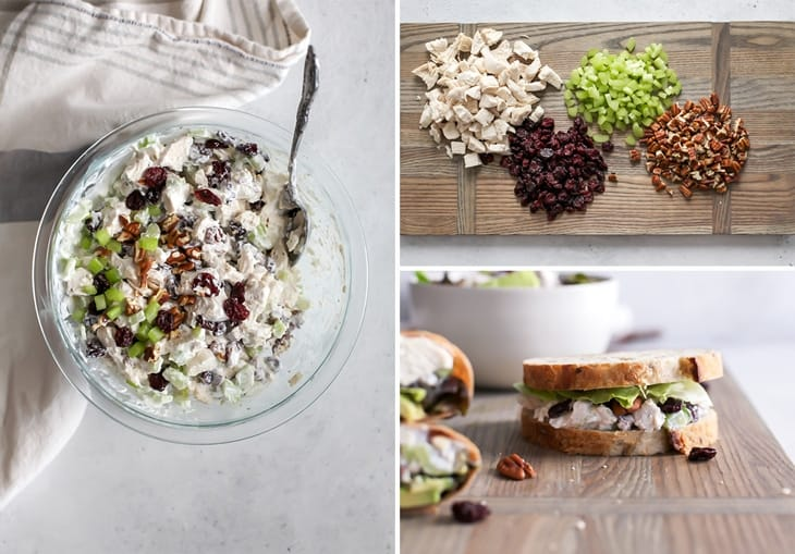 How to make Healthy Cherry Chicken Salad