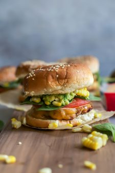 Chipotle Cheddar Turkey Burgers