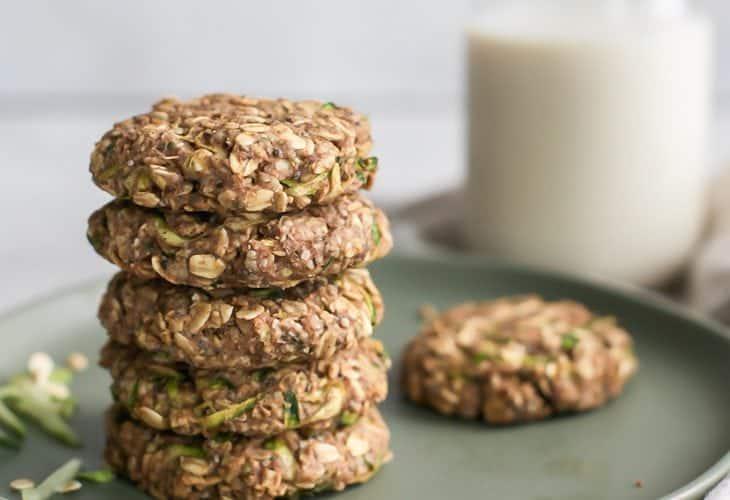 Healthy Breakfast Zucchini Cookies {oil-free, gluten-free, vegan}