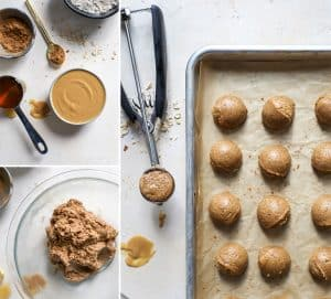 how to make peanut butter cookie dough bites