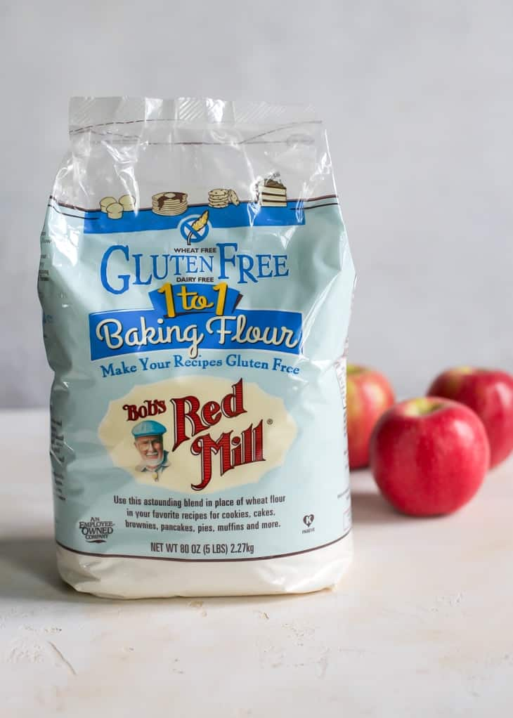 bag of Bob's Red Mill Gluten Free 1 to 1 Baking Flour
