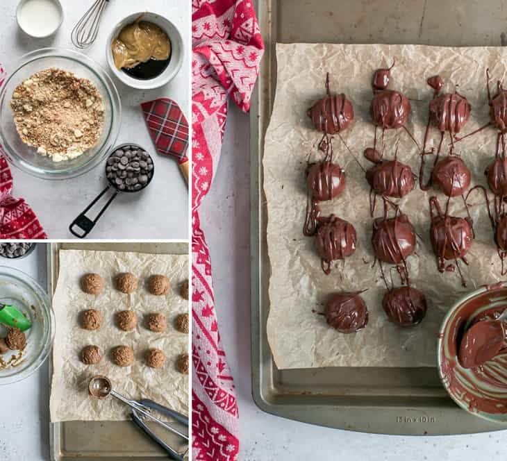 how to make gingerbread truffles
