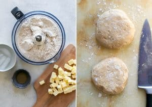 process for making whole wheat pie crust for apple pie