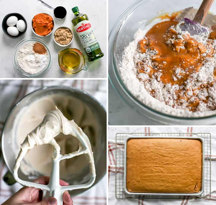 how to make pumpkin cake with olive oil