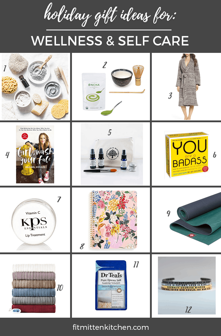 wellness gift guide graphic