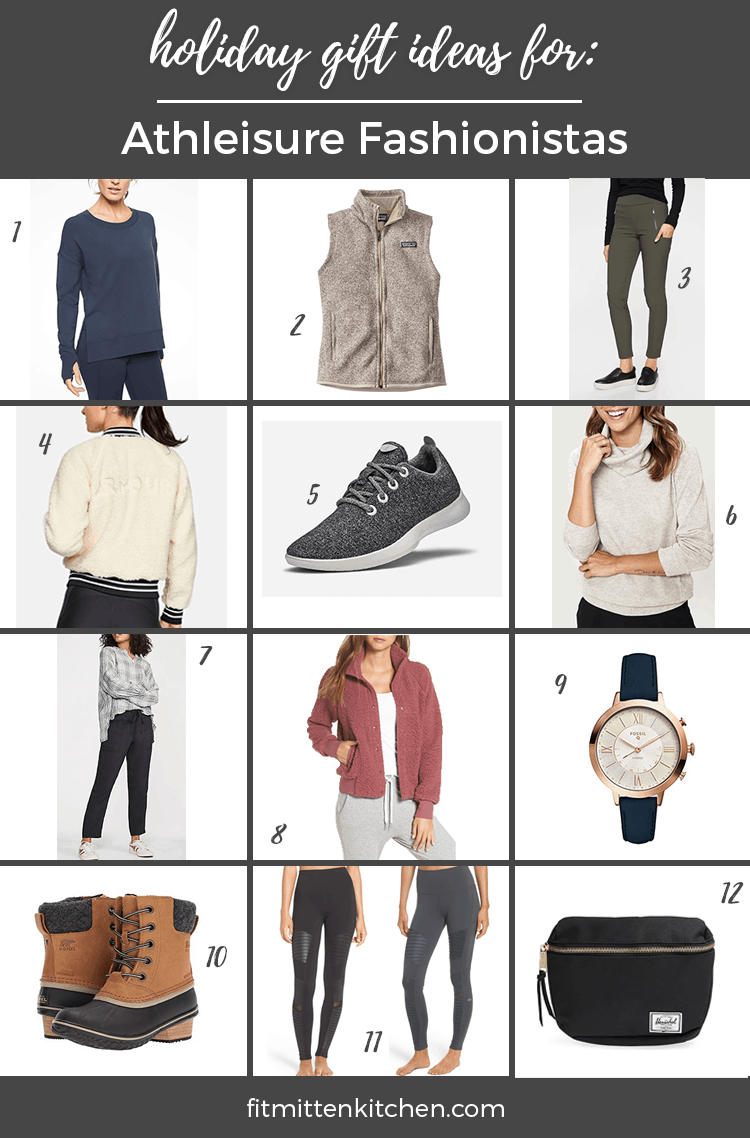 athletic gift guide fashionista