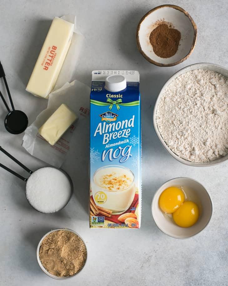 almond breeze nog cookie ingredients