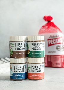 Purely Pecans Pecan Butter flavors