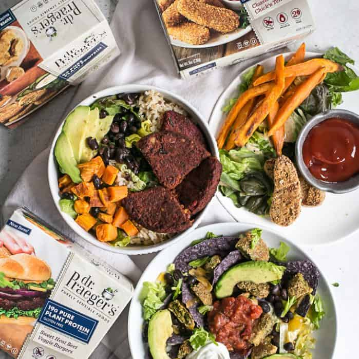 dr. praeger's plant based meals