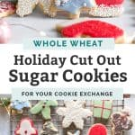 holiday sugar cookies with whole wheat