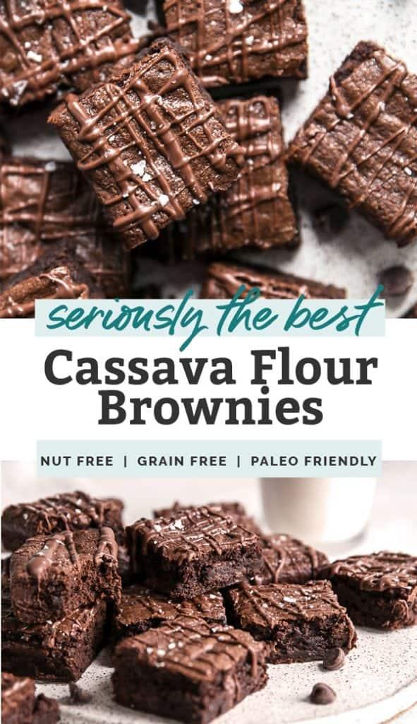 cassava flour brownies pinterest