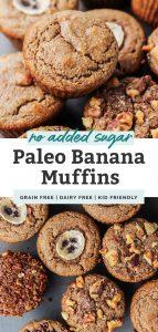 paleo banana muffins pinterest