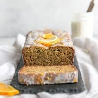 almond flour orange lemon poppy seed bread