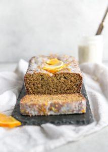 almond flour orange lemon poppy seed bread