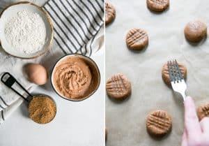 how to make criss cross cashew butter cookies