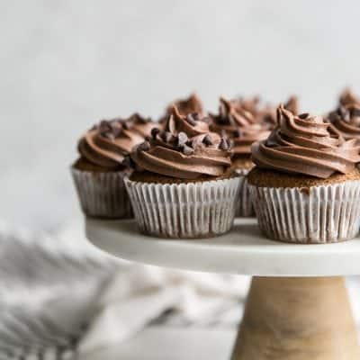 Grain Free Cookie Dough Cupcakes {and why you should celebrate Galentine's Day}
