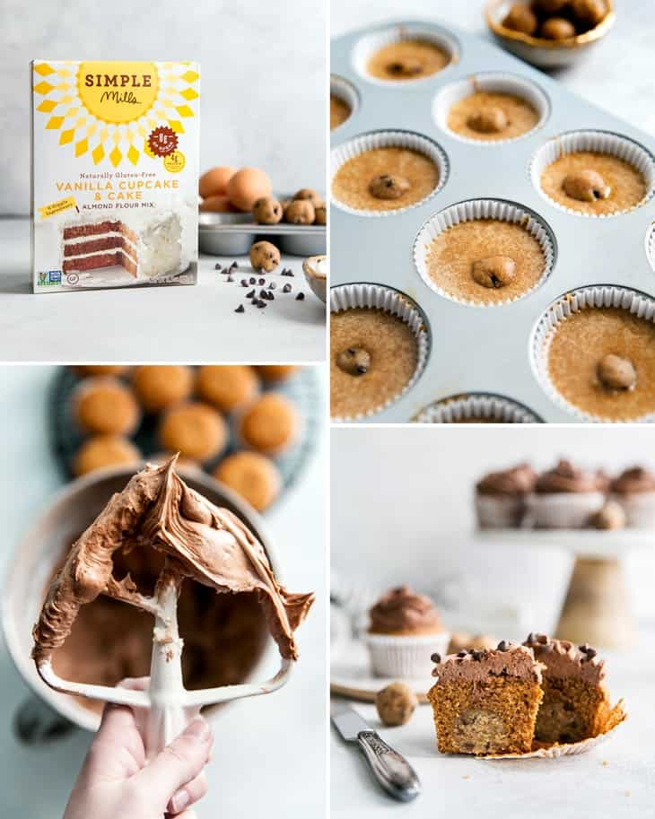 how to make paleo chocolate frosting and grain free cupcakes