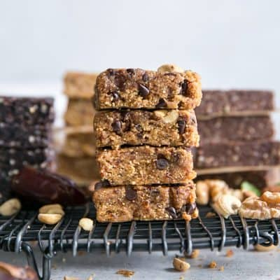 How to Make Homemade Protein Bars {copycat RXBAR}