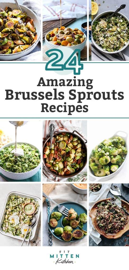 A roundup of 24 amazing brussels sprouts recipes
