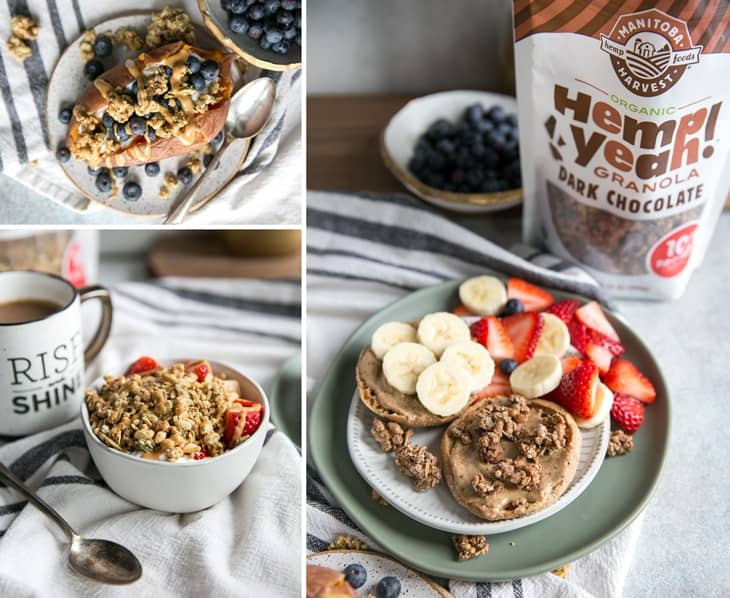 healthy breakfast recipes with granola