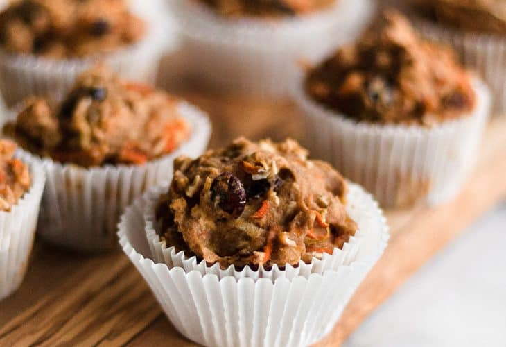 Healthy Morning Glory Muffins {gluten-free, dairy-free}