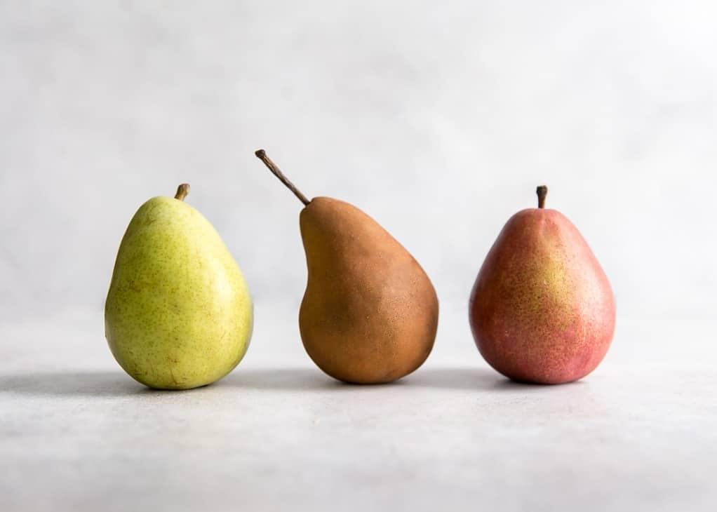 pear varieties for pear flatbread