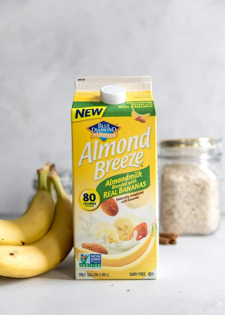 Almond Breeze Almondmilk with real bananas