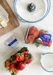 California Giant Strawberries for strawberry scones