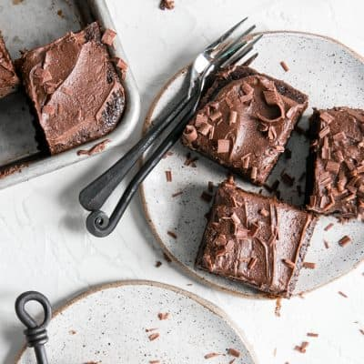 Paleo Chocolate Sheet Cake