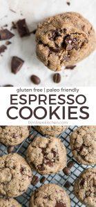 cashew butter espresso cookies pinterest