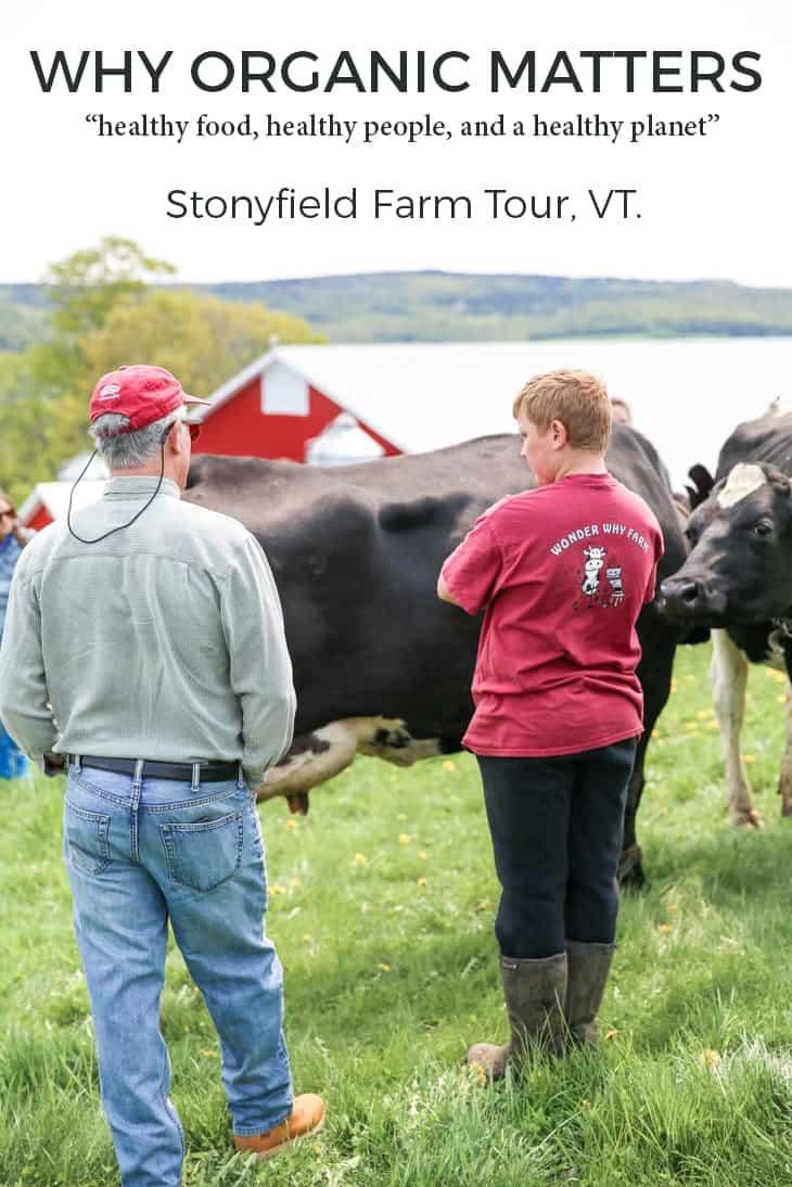 stonyfield farm tour recap