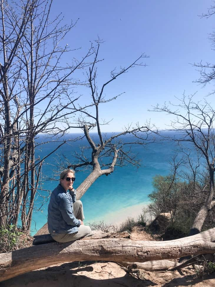 pyramid point lookout sleeping bear dunes