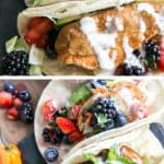 berry salsa fish tacos pinterest