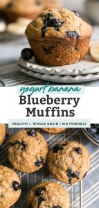 blueberry muffins pinterest image
