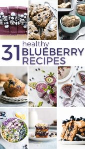 31 healthy blueberry recipes