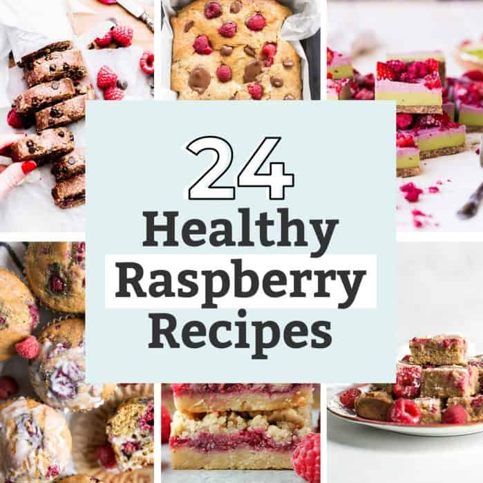 24 Healthy Raspberry Recipes Image