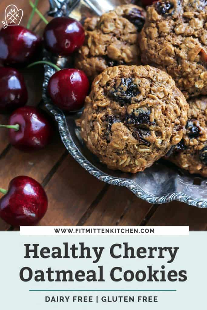 cherry oatmeal cookies pinterest