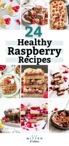 raspberry recipes graphic