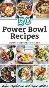 50 healthy power bowls recipes