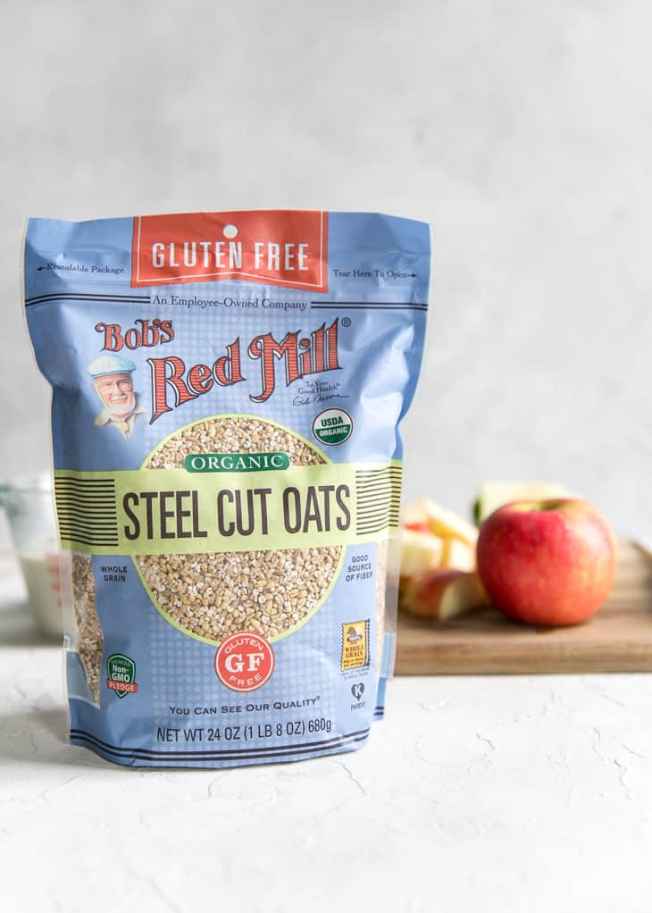 Bob's Red Mill Steel Cut Oats, gluten free and organic