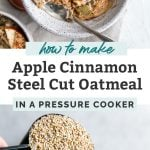 how to make apple oatmeal pinterest